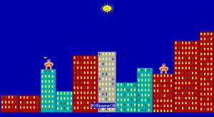 QBasic game GORILLA.BAS
